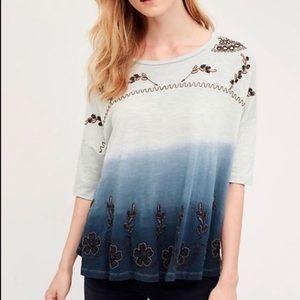 Akemi Kin ombré beaded blouse 🌎